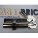 Cilindro TESA 5200 30x70 Niquelado Leva corta