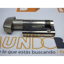 Cilindro TESA 5200 30x10 Niquelado Leva corta BOTÓN