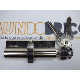 Cilindro TESA 5030 45x55 Niquelado Leva larga