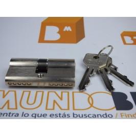 Cilindro CISA C2000 30x30 Niquel Leva Larga