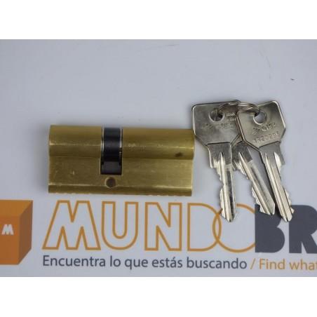 Cilindro CISA C2000 30x50 Latón Leva Larga