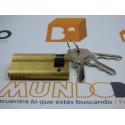 Cilindro CISA C2000 50x10 Latón Leva Larga