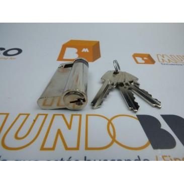 Cilindro TESA 5200 30x10 Niquelado Leva corta