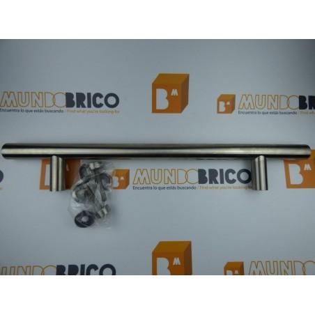 Tirador individual 8000 LEVI 500 mm. INOX