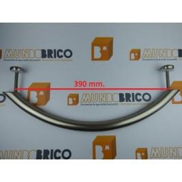 Tirador Individual ARCO RECTO 450 Anodizado Inox