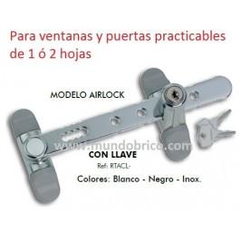 Retenedor de Seguridad AIRLOCK de ALUMABE con llave