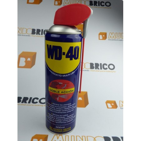 Spray WD40 Doble Acción 500 ml.