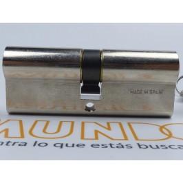 Cilindro TESA 5200 40x40 Niquelado Leva corta