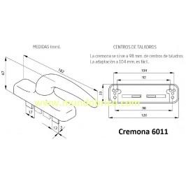 Cremona practicable 6011 ALMA Oro