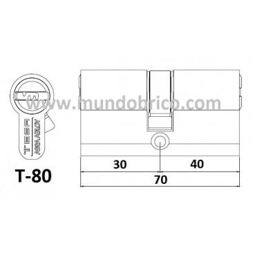 Bombillo tesa t80 latonado leva alta 3040