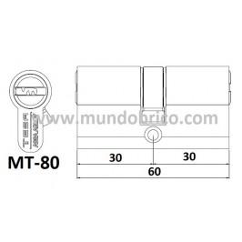 bombillo Mt80 3030 plateado leva baja
