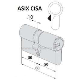 Bombin CISA ASIX 30x50 Latón Leva Larga