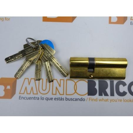 Cilindro TESA MT-80 30x40 Latón Leva Corta