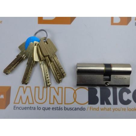 Cilindro TESA MT-80 30x50 Niquelado Leva Corta