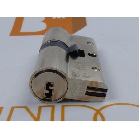 Cilindro CISA Astral SICUR 30x30 Niquelado Leva corta