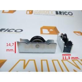 rueda serie 600 metal ref 1004/3 pabose