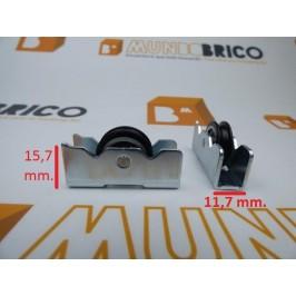 Rueda serie 600 1004/4B metálica Pabose