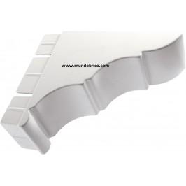 Remate Pérgola Aluminio 150x65 BLANCO
