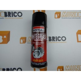 Grasa Blanca en Spray SOUDAL - WHITE GREASE (400 ml.)