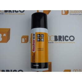 Aerosol de Silicona en Spray FISCHER 400ml.