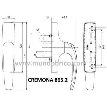 Cremona practicable 865.2 BLANCA de SAVIO-FINESTRA