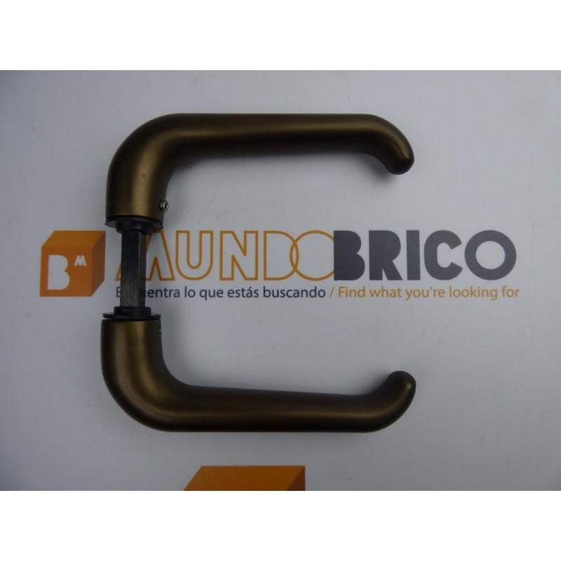 Juego Manilla Nº 3 de SAN ANTONIO Bronce espigo CORTO