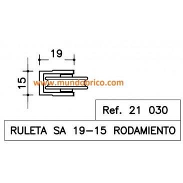 Rueda aluminio SA-19-15 SAN ANTONIO
