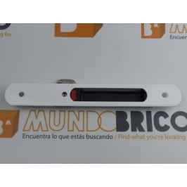 Cierre embutido 3020 (muelle) IZQUIERDO Blanco serie europea